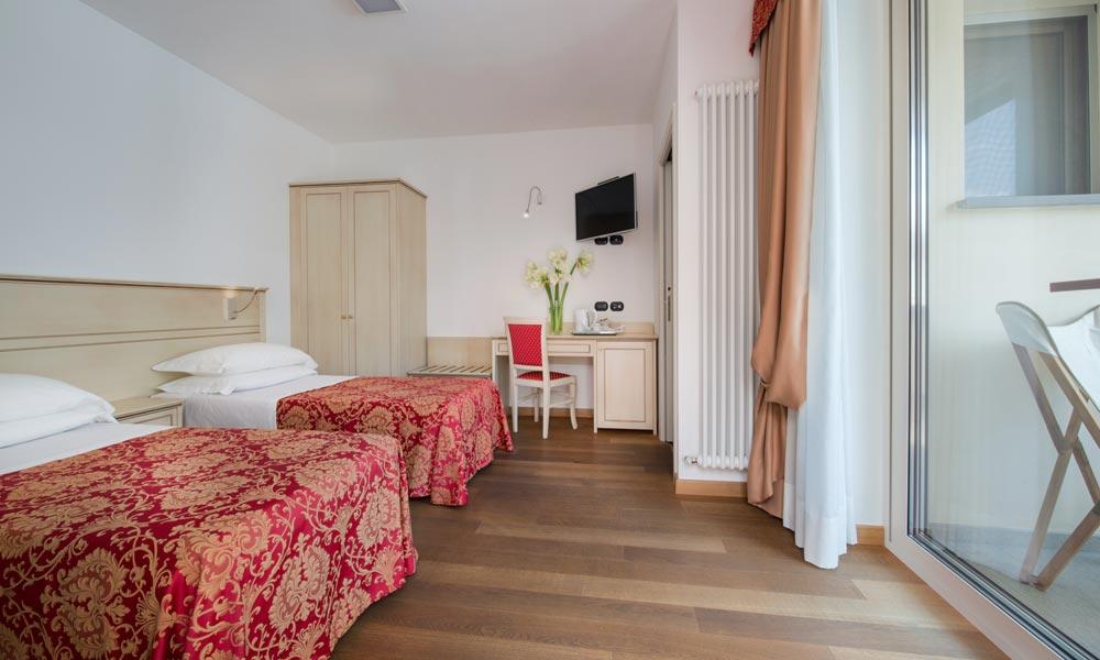 camera doppia Hotel La Villetta Firenze
